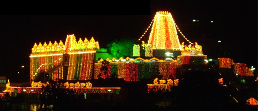 Temple With Lighting